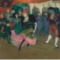 Марсель Лендер, танцующая Болеро в Шильперик - Тулуз-Лотрек, Анри де