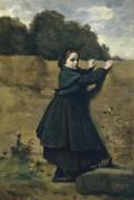 Любопытная девочка - Коро, Жан-Батист Камиль