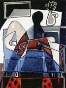 Тень на женщине - Пикассо, Пабло