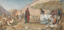 Лагерь в пустыне у горы Синай - Льюис, Джон Фредерик