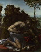 Святой Иероним в покаянии - Содом, Ил