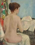 Евгения голая со спины, студия на вилле - Галл, Франсуа