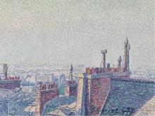 Крыши Парижа, 1899 - Кариот, Густав