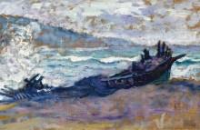 Старые лодки на песке - Кросс, Анри Эдмон
