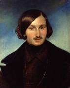 Николай Васильевич Гоголь 1848. - Моллер, Фёдор Антонович
