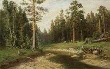 Корабельный лес, 1891 - Шишкин, Иван Иванович
