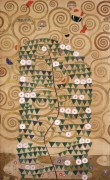 Древо жизни, деталь - Климт, Густав
