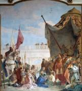 Александр Великий и семья Дария - Тьеполо, Джованни Баттиста