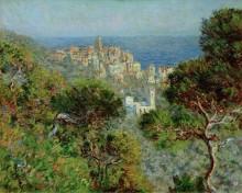 Пейзаж с видом на Бордигеру - Моне, Клод