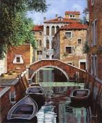 Канал в Венеции - Борелли, Гвидо (20 век)