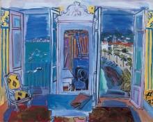 Открытый балкон в Ницце - Дюфи, Рауль