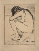 Скорбь (Sorrow), 1882 - Гог, Винсент ван