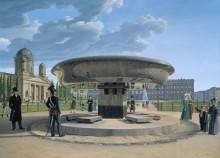 Гранитная чаша в берлинском парке Лустгартен - Хуммель, Иоганн Эрдман
