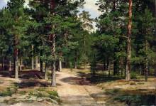 Сестрорецкий бор, 1886 - Шишкин, Иван Иванович