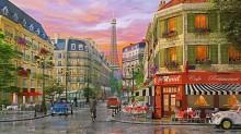Бульвар в Париже - Девисон, Доминик