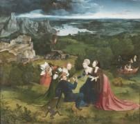 Искушение Антония, 1517 - Патинир, Иоахим