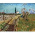 Дорожка через поле с ивами (Path through a Field with Willows), 1888 - Гог, Винсент ван