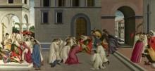 Три Чуда святого Зиновия - Боттичелли, Сандро