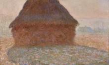 Стог сена в солнечном свете, 1890 - Моне, Клод