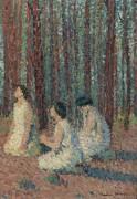Три женщины, 1910 - Мартен, Анри Жан Гийом