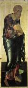 Деисусный чин (Владимир, Успенский собор, 1408) 2. Св.Иоанн Богослов - Рублев, Андрей