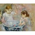 Девочки у аквариума - Моризо, Берта