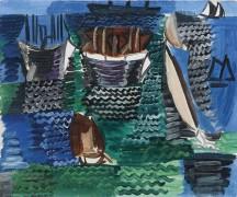 Лодки в Гавре - Дюфи, Рауль