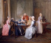 Игра в карты - Гравело, Губерт Франсуа