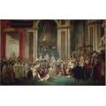 Коронование императора Наполеона I и императрицы Жозефины в соборе Парижской Богоматери 2 декабря 1804 года - Давид, Жак-Луи