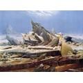 Крушение Надежды, Море льда (Ледовитый океан), 1823-24 - Фридрих, Каспар Давид
