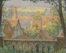 На крышах, 1927 - Сиданэ, Анри Эжен Огюстен Ле