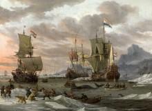 Основание китобойного промысла в Северном Ледовитом океане - Сторк, Абрахам