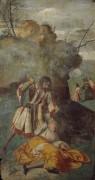 Чудо с ревнивым мужем - Тициан Вечеллио