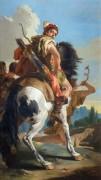 Охотник на коне - Тьеполо, Джованни Баттиста