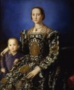 Элеонора Толедская с сыном Джованни де Медичи - Бронзино, Аньоло