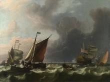 Голландский военный корабль - Бакхейзен, Людольф