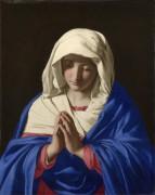 Богородица в молитве - Сассетта, Стефано ди Джованни