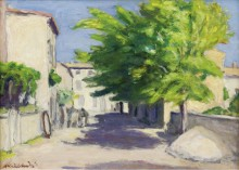 Деревенская улица в Провансе - Андре, Альберт