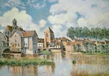 Бургундские ворота в Море-сюр-Луэн - Сислей, Альфред