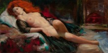 Рыжеволосая красотка (модель Эрла Морана - Дрю) - Моран, Эрл