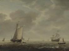 Голландский военный корабль и суда различного назначения - Влиже, Симон де