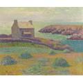 Дом на холме, 1898 - Море, Анри