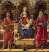 Мадонна с Младенцем и святыми (Алтарь Барди) - Боттичелли, Сандро