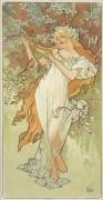 Времена года - весна - Муха, Альфонс