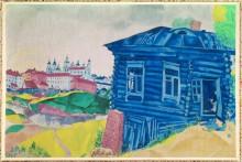 Синяя изба - Шагал, Марк Захарович