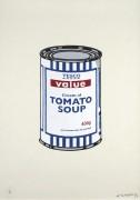 Банка оригинального томатного супа - Бэнкси