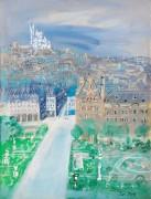 Сады Тюильри и базилика Сакр-Кёр в Париже - Дюфи, Жан