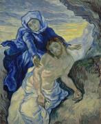 Пьета (Оплакивание Иисуса Христа) по мотивам Делакруа (Pieta (after Delacroix), 1889 - Гог, Винсент ван