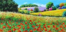 Провансальские цветы
