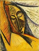 Голова спящей женщины - Пикассо, Пабло